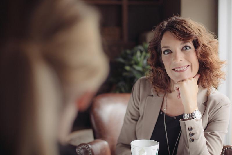 Intervju pågår: Linda Björck